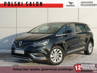 Renault Espace Skóra Masaże Pure LED Vision